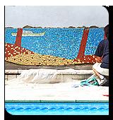 Création de mosaïques d'exceptions, pièces uniques
