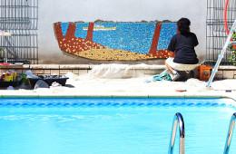 Décor mural (pose)