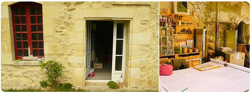 Nouvel atelier mosaïque à Yvrac (rive droite, 15 mn de Bordeaux)