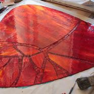 «Volcano» – Guéridon (atelier)