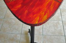 «Volcano» – Guéridon, 60 x 60 cm