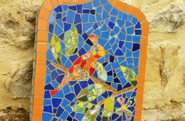 Plaque murale – Stage Picassiette
