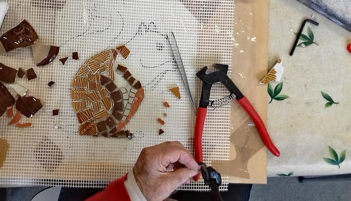 Ateliers et stages mosaïque - Bordeaux, Talence, Gironde