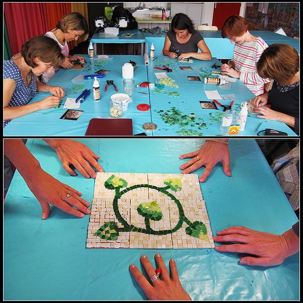 Atelier mosaïque à Bordeaux