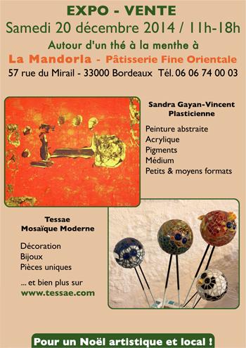 Exposition mosaïque à Bordeaux