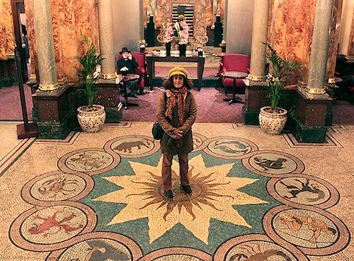 Mosaïque - Russel Hotel, Londres