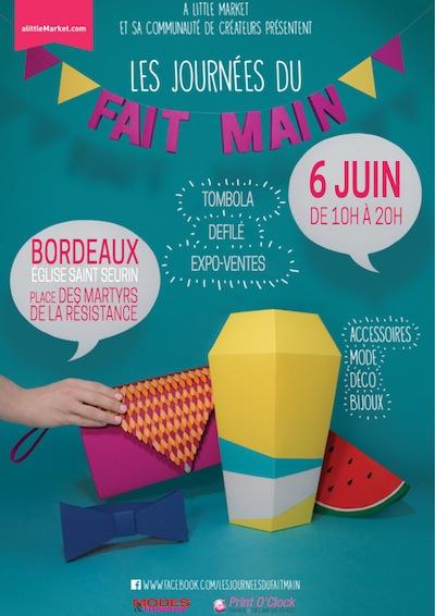 Les Journées du Fait-Main, Bordeaux.