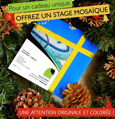 Idée cadeau : un stage mosaïque à Bordeaux !