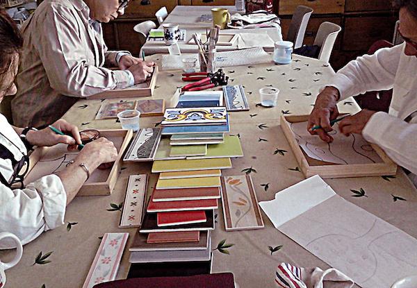 Ateliers, cours et stages mosaïque à Bordeaux