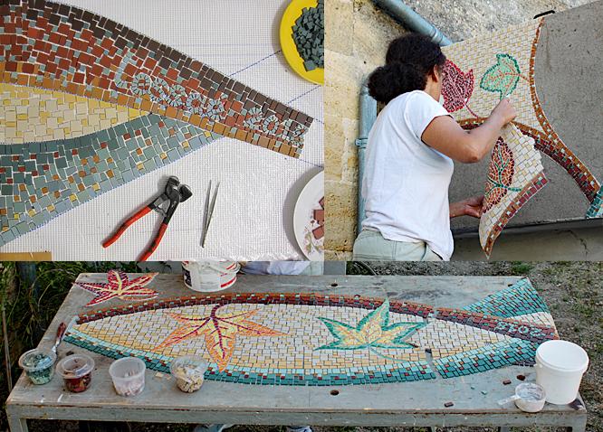 Magali Magère, mosaïste à Bordeaux - Des créations mosaïques sur mesure