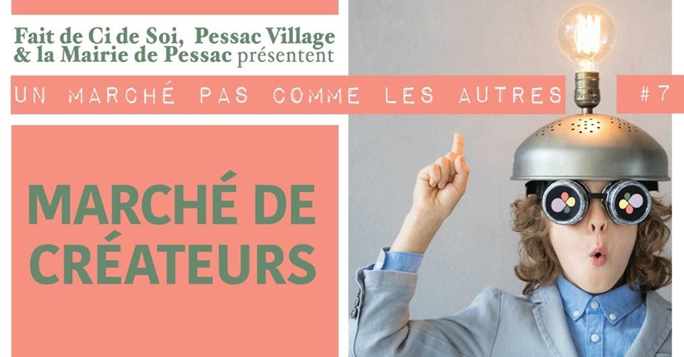 Marché de créateurs à Pessac - septembre 2019