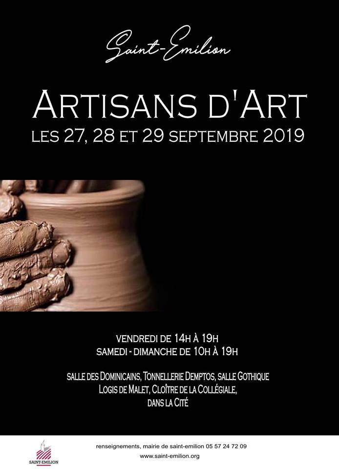 Salon Artisans d'Art Saint-Emilion 2019