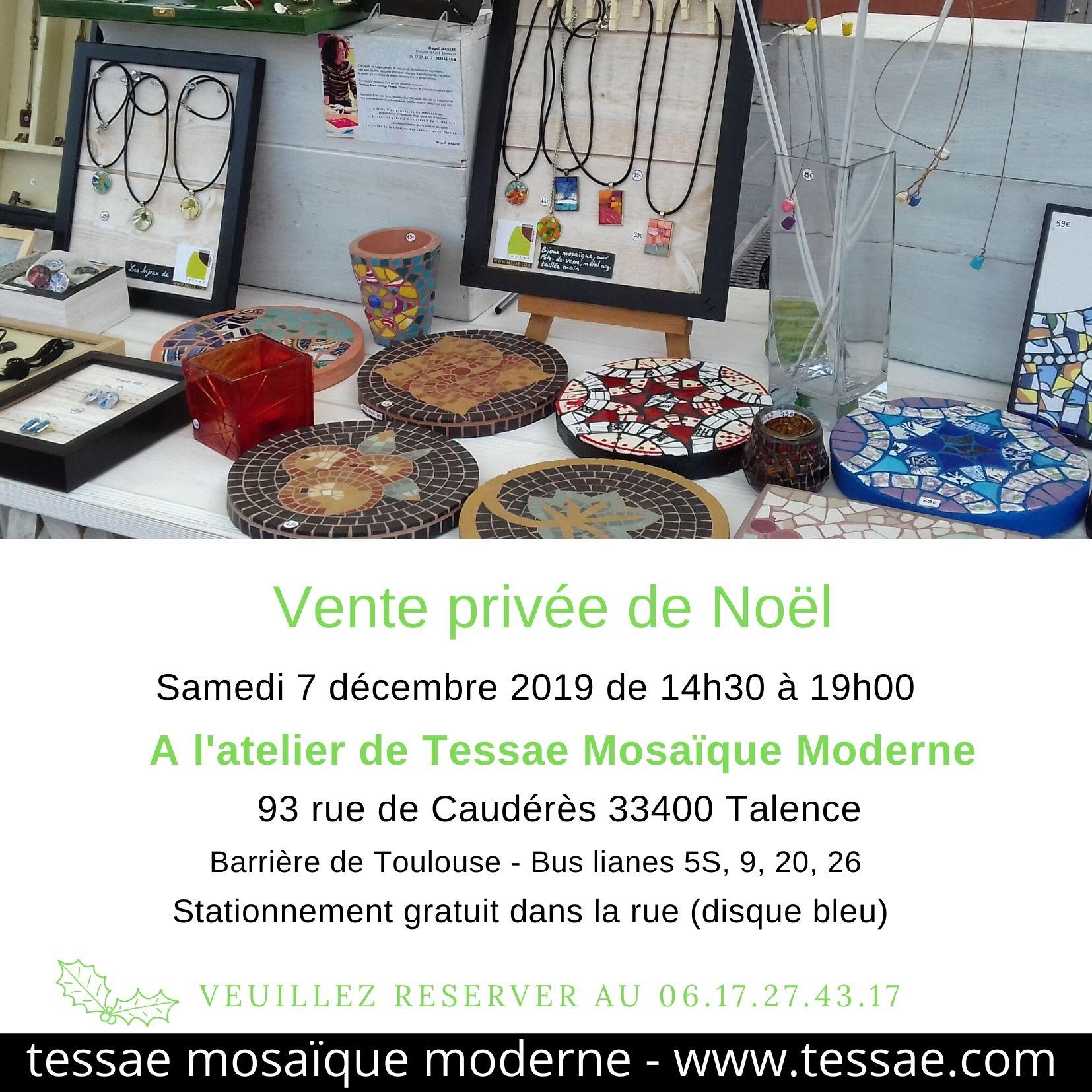 Vente de bijoux et décoration mosaïque à Bordeaux