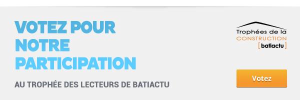 Tessae Mosaïque Moderne à Bordeaux - Trophée des lecteurs de BATIACTU