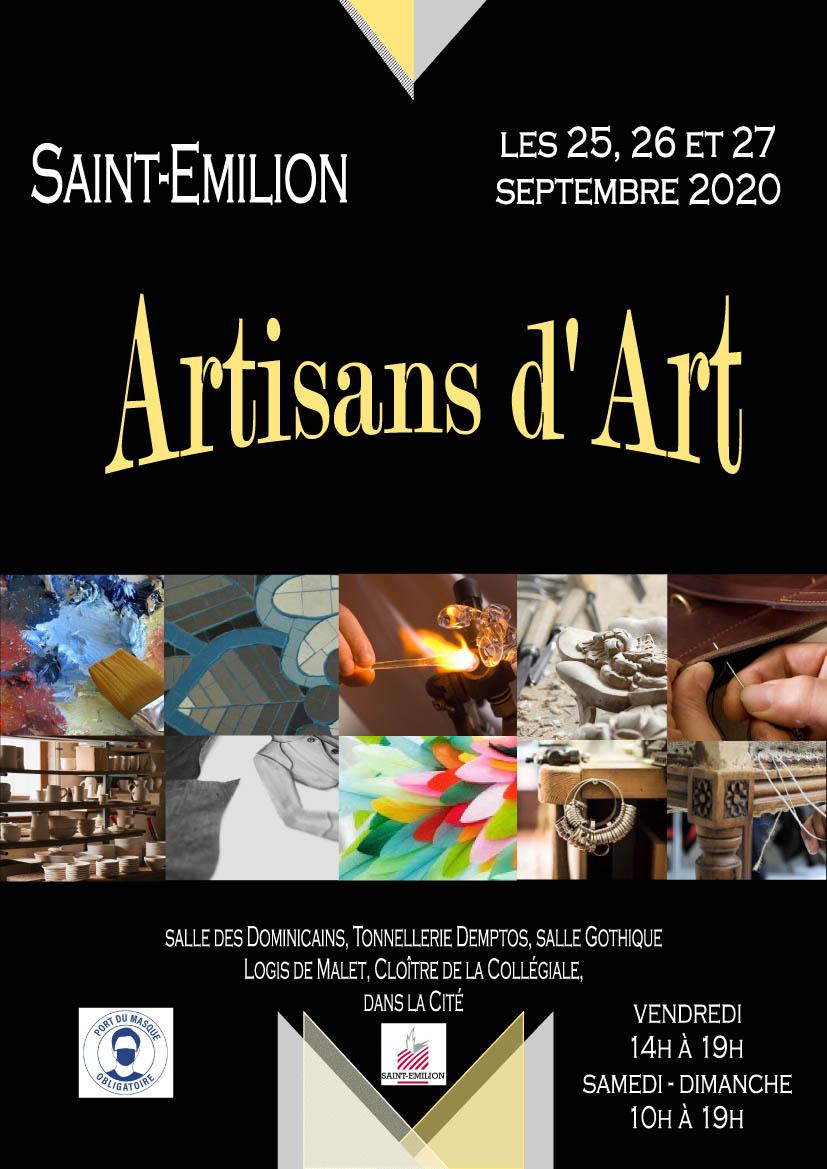 Artisans d'Art Saint Emilion 2020