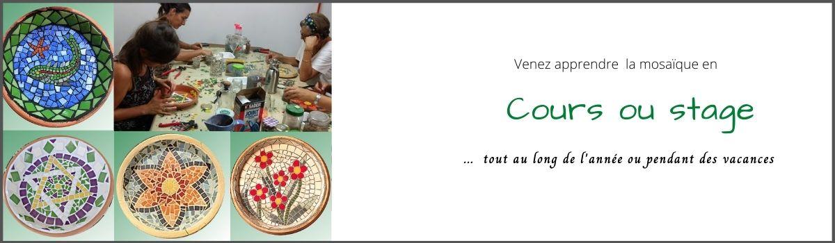 Rentrée cours & stages mosaïque Gironde