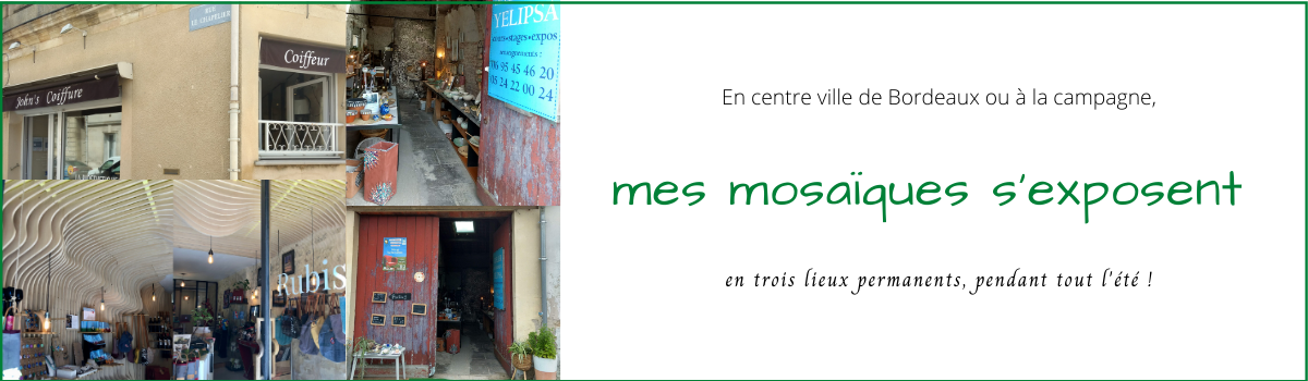 Magali Magère - Tessae Mosaïque Moderne - Expositions mosaïque à Bordeaux